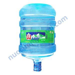 Nước Wami bình úp 19 lít