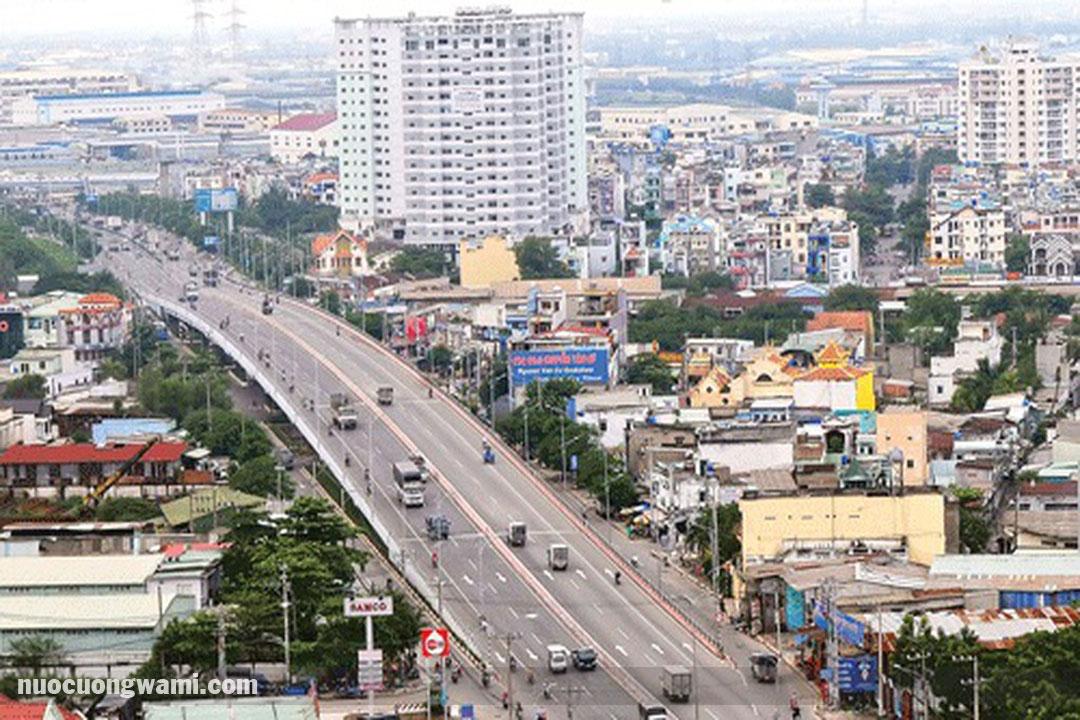 Khu vực quận Bình Tân