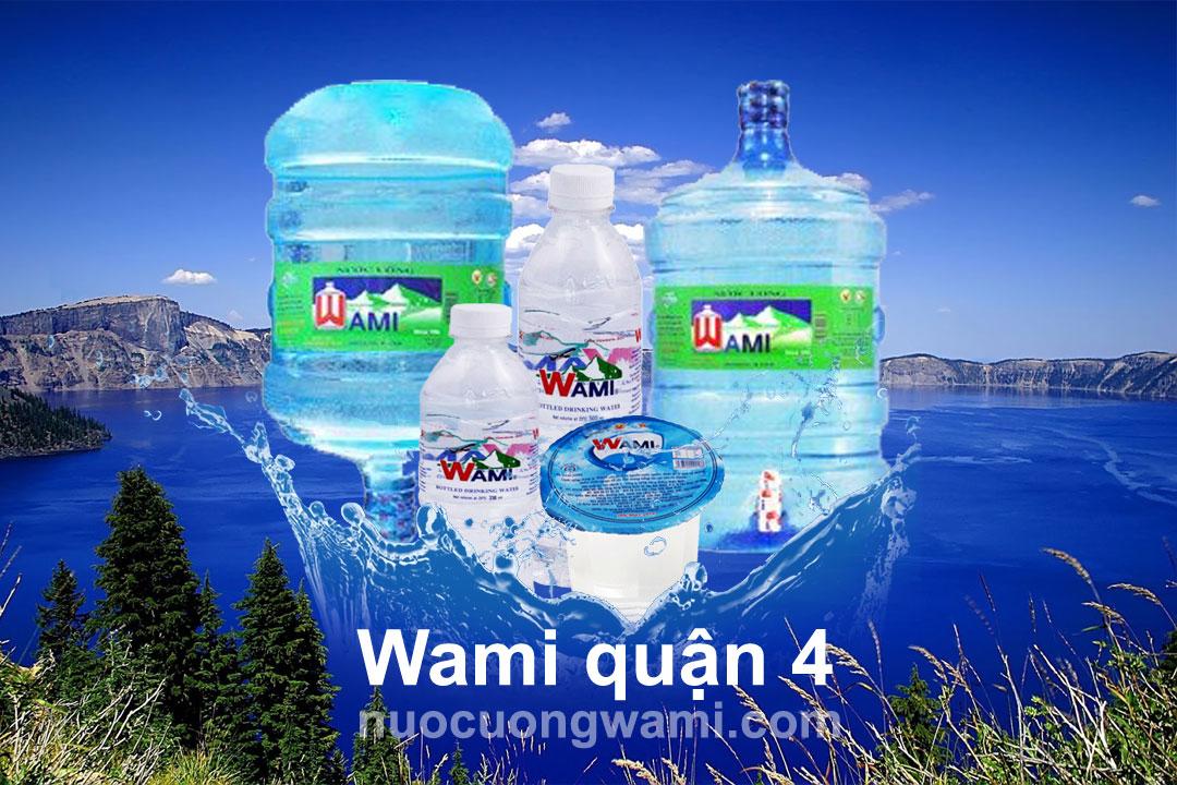 Nước uống Wami quận 4