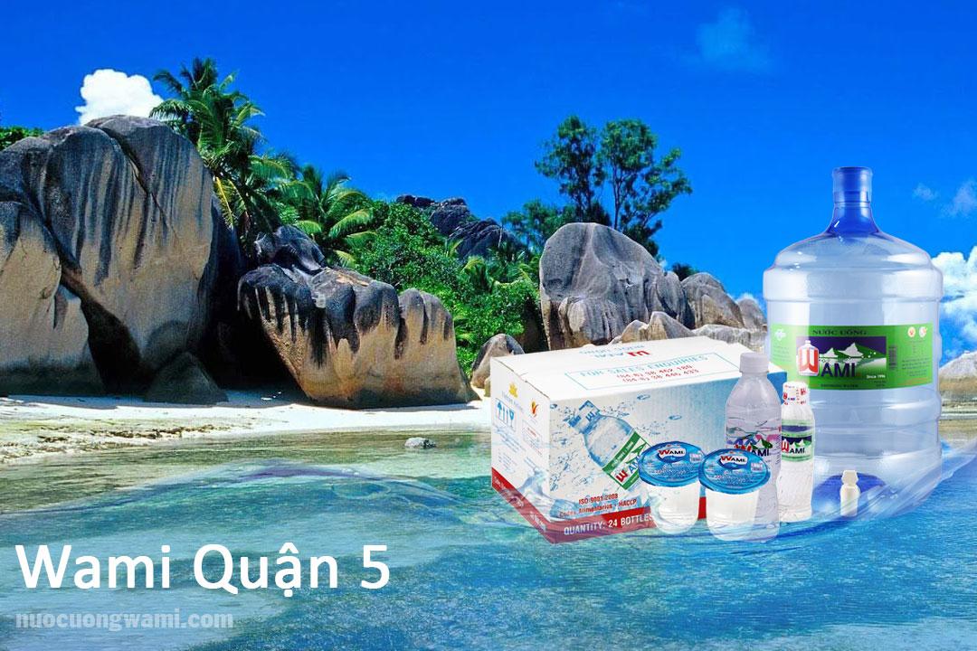 Sản phẩm nước Wami quận 5