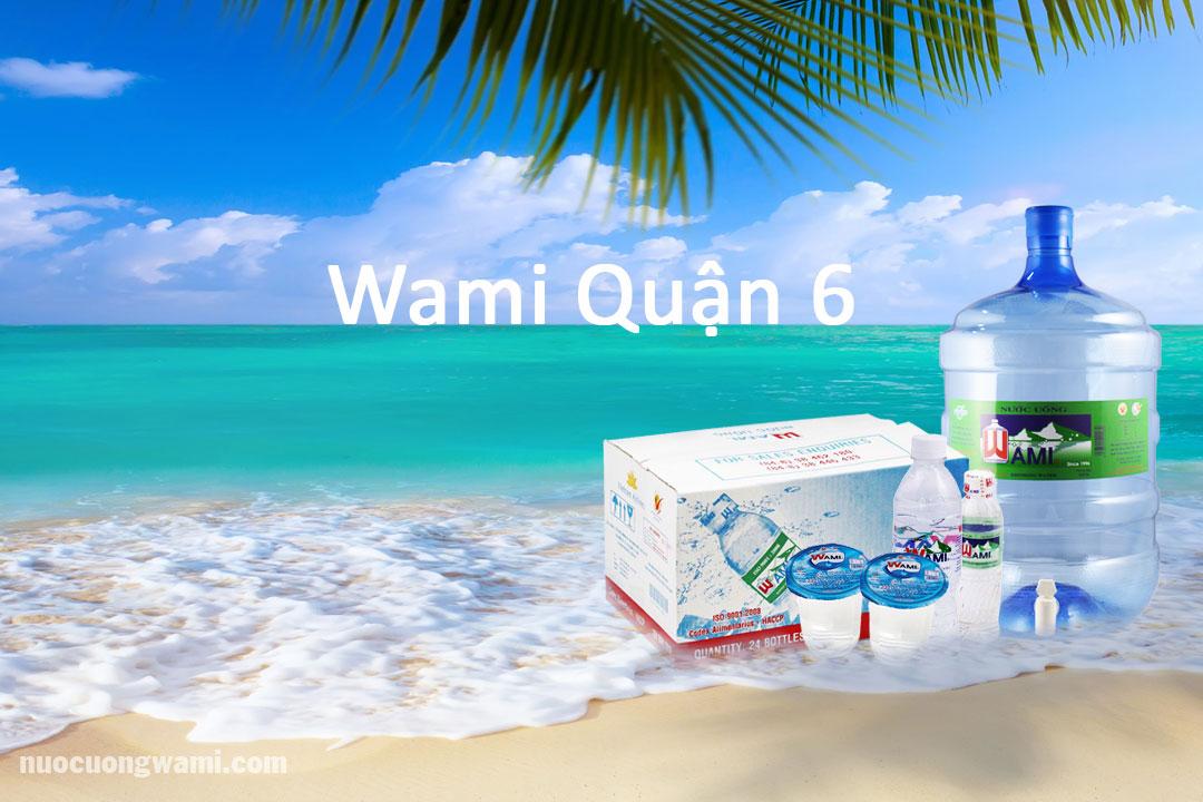 Sản phẩm nước Wami quận 6