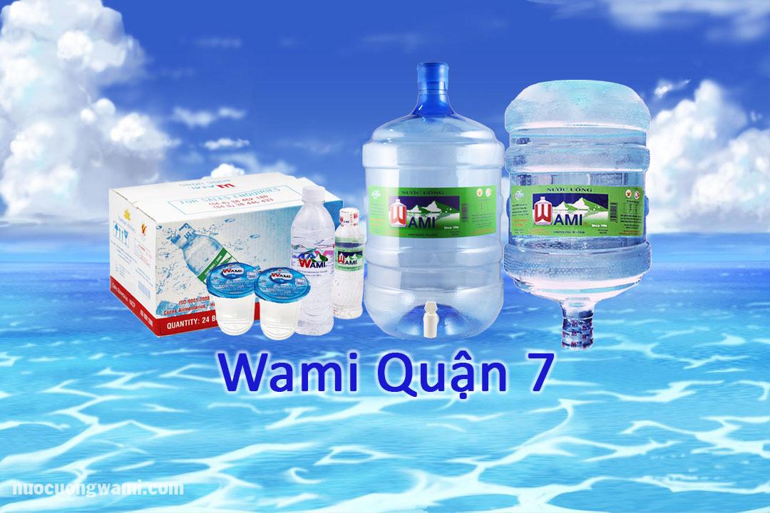 Sãn phẩm nước Wami