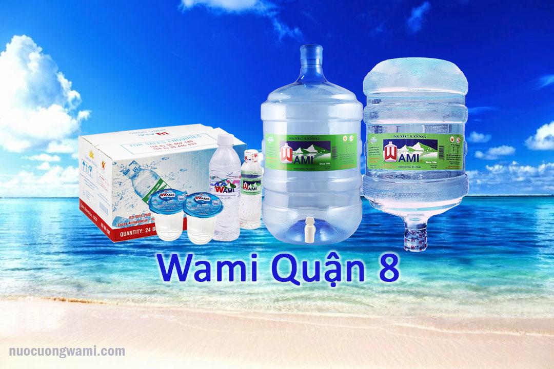 Sản phẩm nước tinh khiết Wami Quận 8