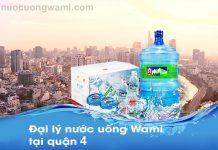 Nước uống Wami tại quận 4