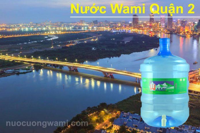 Nước uống Wami quận 2