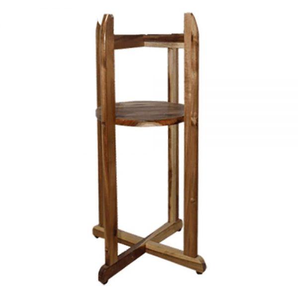 Chân kệ gỗ để bình nước