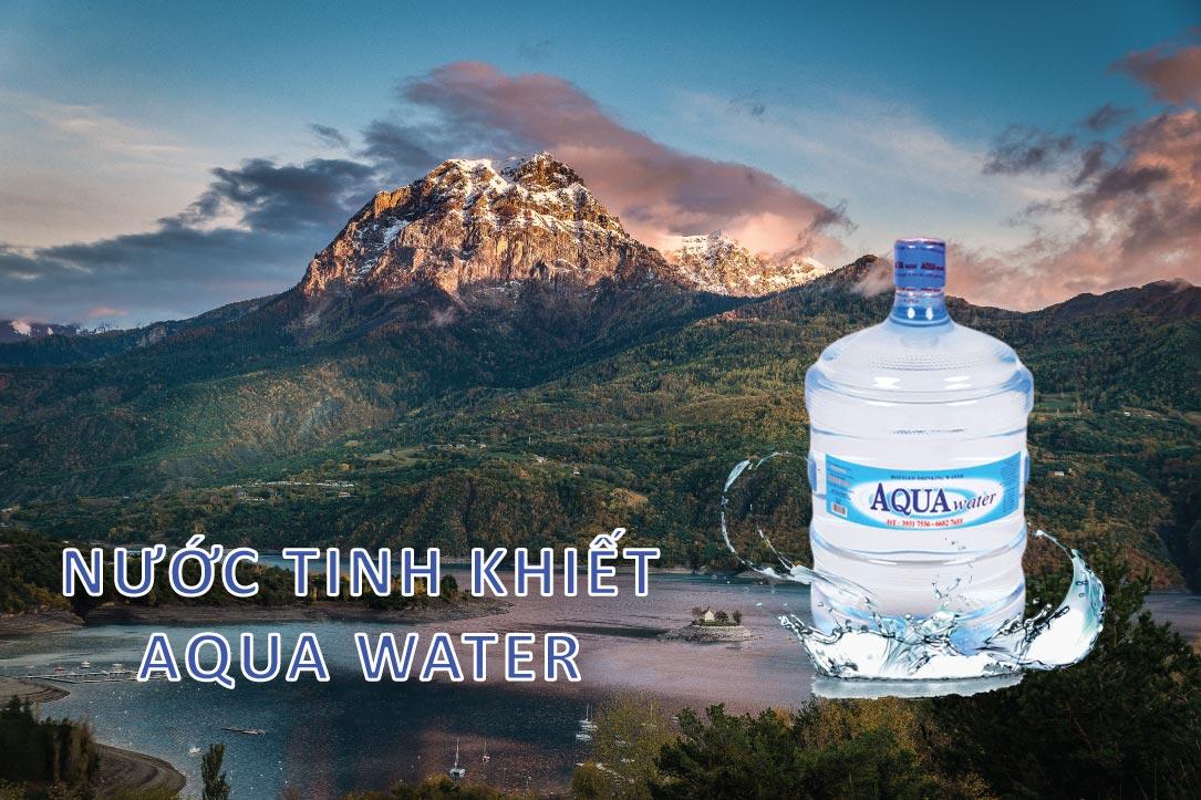 Nước tinh khiết AQUA Water