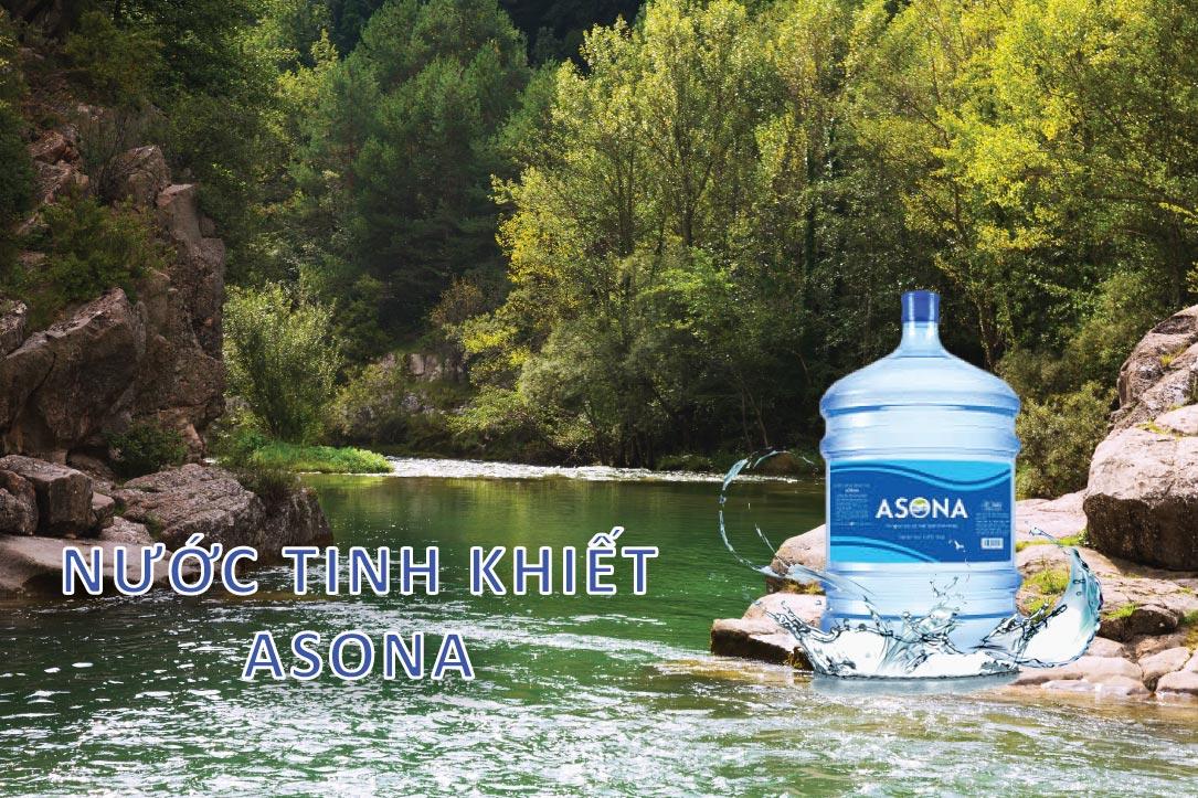Nước tinh khiết Asona