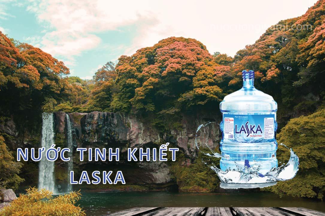 Nước tinh khiết Laska