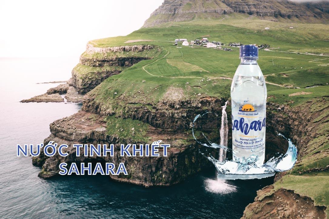 Nước tinh khiết Sahara