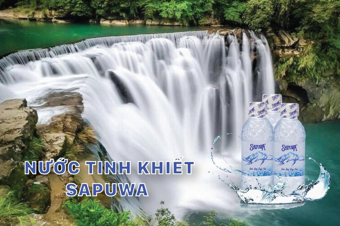 Nước tinh khiết Sapuwa