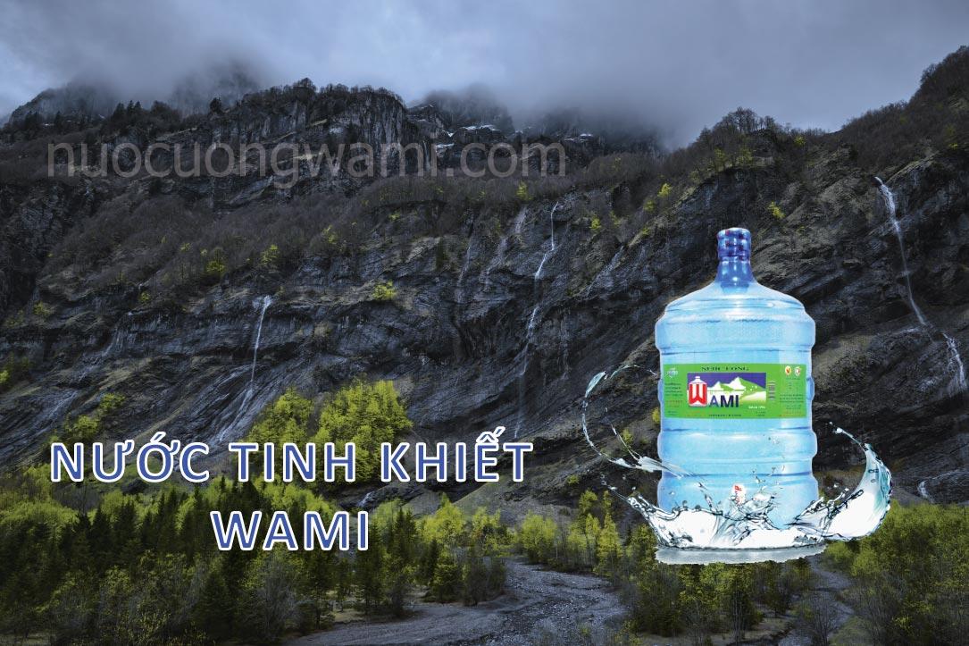 Nước tinh khiết Wami