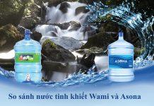 Nước uống Wami và nước uống Asona