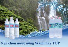 Nước uống Wami và nước uống TOP