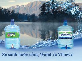 Nước uống Wami và nước uống Vihawa