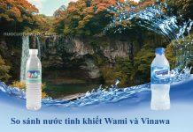 Nước uống Wami và nước uống Vinawa