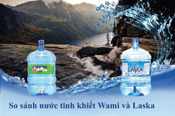 Nước uống Wami và nước uống Laska