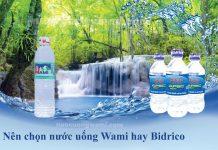 Nước uống Wami và nước uống Bidrico
