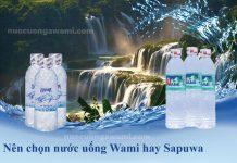 Nước uống Wami và nước uống Sapuwa