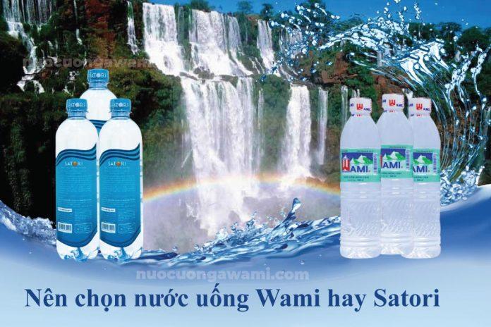 Nước uống Wami và nước uống Satori