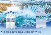 Nước uống Wami và nước uống Wells